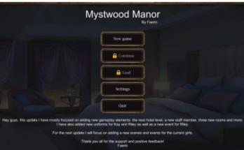 Mystwood Manor 0.4.3 Game Download for Mac and PC
